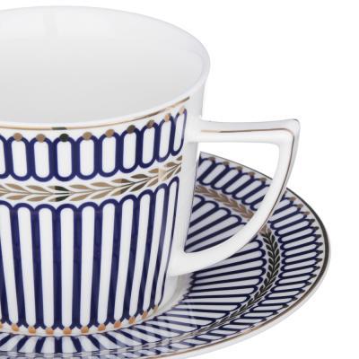 802-044 MILLIMI Граф Набор чайный 12 пр., 250мл, костяной фарфор
