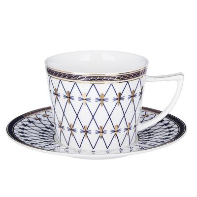 802-045 MILLIMI Монте-Кристо Набор чайный 12 пр., 250мл, костяной фарфор