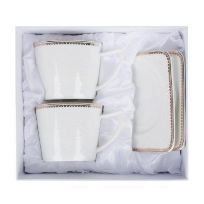 802-047 MILLIMI Катрин Набор чайный 4пр., 250мл, костяной фарфор