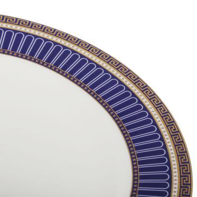 821-004 MILLIMI Синий Монфор Сервиз столовый 21пр, костяной фарфор