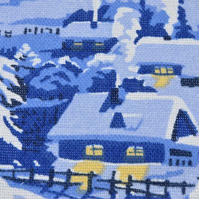 492-003 PROVANCE Зимняя сказка Прихватка, рогожка, 100% хлопок, 18х18см, 2 дизайна