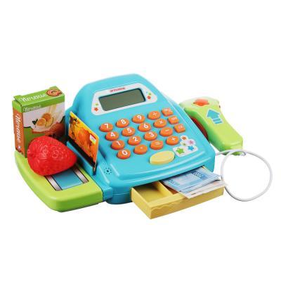 294-130 ИГРОЛЕНД Набор Магазин: касса,продукты, тележка,22пр, свет, звук, 2хАА,ABS,PVC,24х12х24см, 2 дизайна
