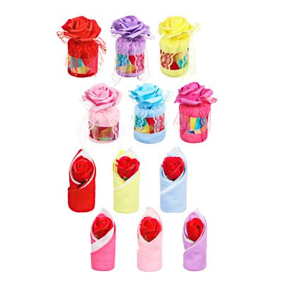 412-056 Салфетка подарочная для уборки, (20х20см), 10х7см; 13,5х6см, 80% полиэстер, 20% нейлон, 6 цветов