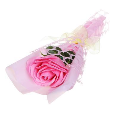 412-062 LADECOR Лепестки мыльные в форме розы, 27-28,5см, 6 цветов