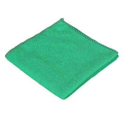 396-611 Полотенце подарочное, микрофибра, 30х30см, в виде елочки, 12х5,5 см
