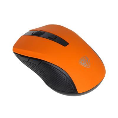 405-025 BY Компьютерная мышь беспроводная, 800/1200/1600DPI, покрытие Soft Touch, 1xAA, пластик