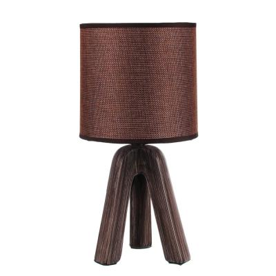 "476-357 FORZA Лампа настольная ""Венеция"", E14, 40 Вт, 220-240В, керамика, текстиль, 3 цвета"