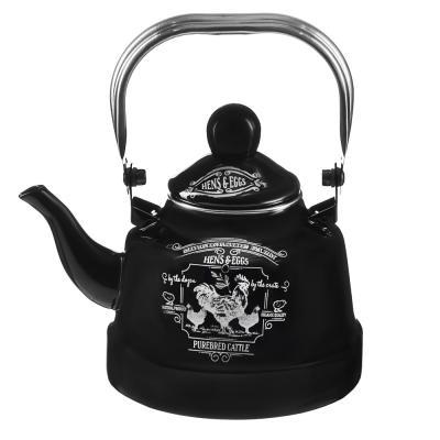 894-484 VETTA Ранчо Чайник эмалированный 1,1 л, 3 дизайна, индукция