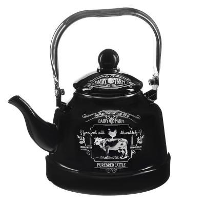 894-485 VETTA Ранчо Чайник эмалированный 2,5 л, 3 дизайна, индукция