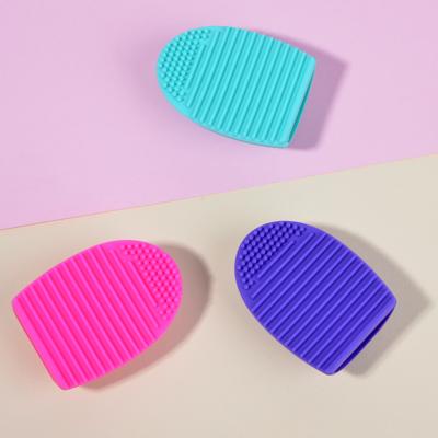 357-216 Щетка для чистки косметических кистей ЮниLook, 7,2x5,5 см, 3 цвета