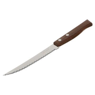 871-573 Tramontina Tradicional Нож кухонный с зубцами 12.7см, блистер, цена за 2шт., 22271/205