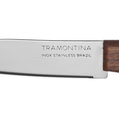 871-574 Tramontina Tradicional Нож кухонный с зубцами 8см, блистер, цена за 2шт., 22270/203