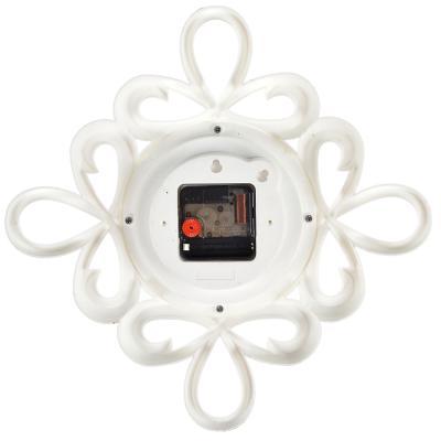581-824 Часы настенные, 13см, пластик, 2 дизайна в декоративной раме