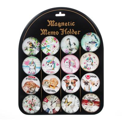 519-002 Магнит стеклянный, 5х5х1,6см, 16-24 дизайнов