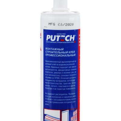 469-216 Клей монтажный - жидкие гвозди PUTECH, строительный, универсальный, 300мл,