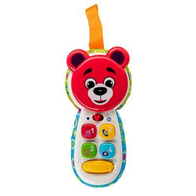272-716 ИГРОЛЕНД Игрушка обучающая в виде телефона, свет, звук, 2xААA, ABS, 16х8х4см, 2 дизайна