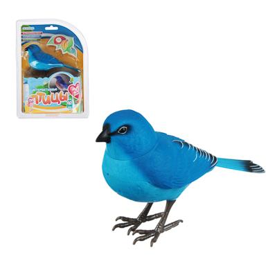 272-717 ИГРОЛЕНД Игрушка интерактивная в виде птицы, звук, движение, 2ААА, 16х5,2Х15,5 см, 8 дизайнов