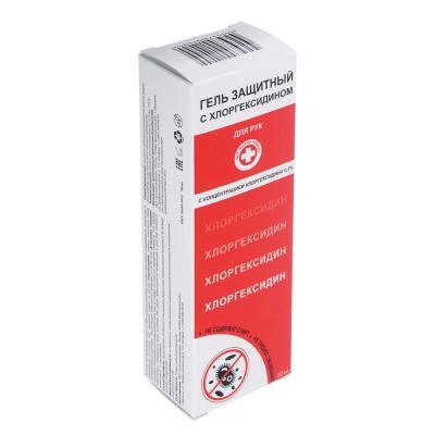 832-052 Гель защитный с хлоргексидином 50мл