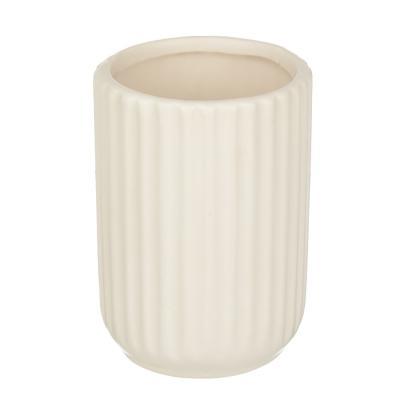 "463-970 VETTA Стакан для ванной комнаты ""Вертикаль"", керамика, 3 цвета"