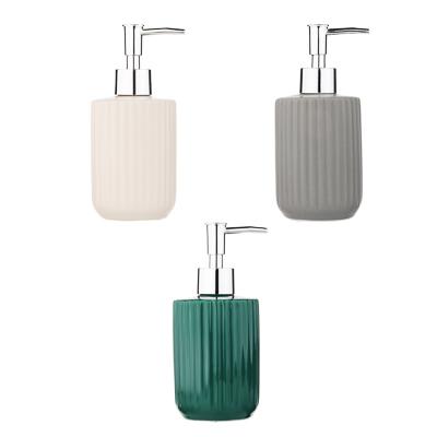 """463-971 VETTA Дозатор для жидкого мыла """"Вертикаль"""", керамика, 3 цвета"""