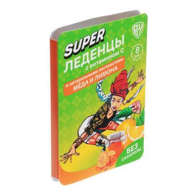 015-111 BY БАД Леденцы с витамином С, 16г, 5 вкусов