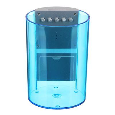 529-186 LADECOR Будильник электронный в виде подставки для ручек, подсветка, 8,5х12х8,5см, пластик, 3хAAA