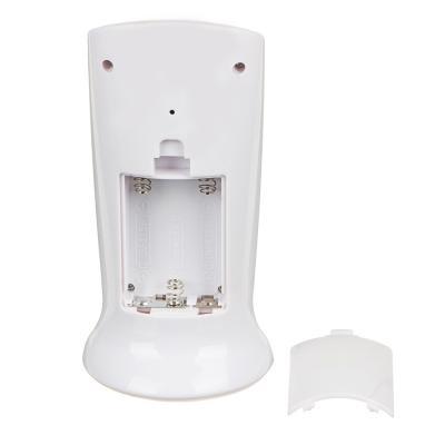 529-188 LADECOR CHRONO Будильник электронный с подсветкой, датойи температурой,ABS, 12,6х5,8х5,5см