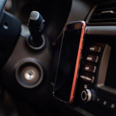 733-038 NG Держатель телефона магнитный на панель, металл, 7х2см