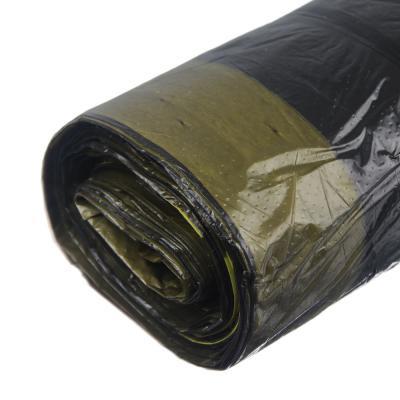 449-050 GRIFON Мешки для мусора с завязками БИО, 35л, 10шт, особо прочные 15мкм, в рулоне