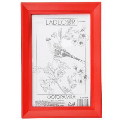 520-596 LADECOR Фоторамка 10х15см, пластик, 6 цветов