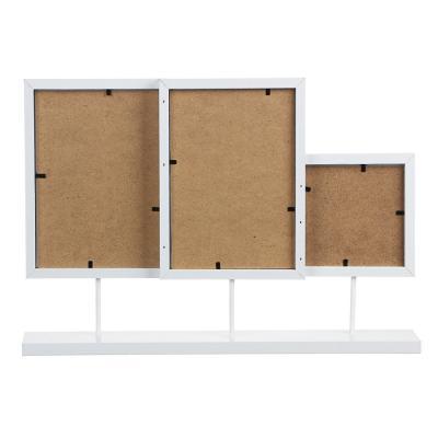 424-051 LADECOR Фоторамка на 3 фотографии, 27,5x41,2см, деревянная