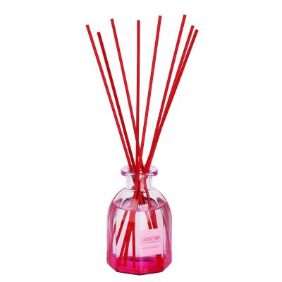 412-067 LADECOR Аромадиффузор с цветными палочками, 130мл, 3 аромата