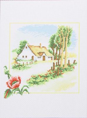 366-216 Канва с рисунком 20x15см, 12 дизайнов