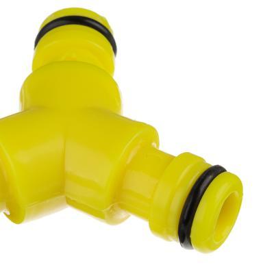 169-041 INBLOOM Соединитель штуцерный (тройник), пластик