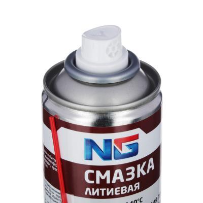 727-075 NG Смазка литиевая, аэрозоль, 210мл