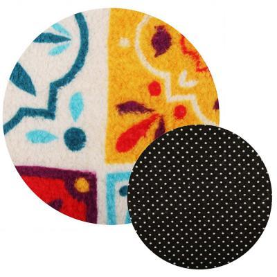 """462-690 VETTA Набор ковриков для ванной и туалета, микрофибра, 45x70см + 45x45см, """"Восточная сказка"""",4 цвета"""
