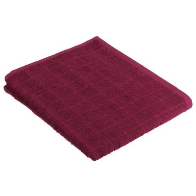 484-016 PROVANCE Линт Полотенце махровое, 100% хлопок, 50х90см, ягодный