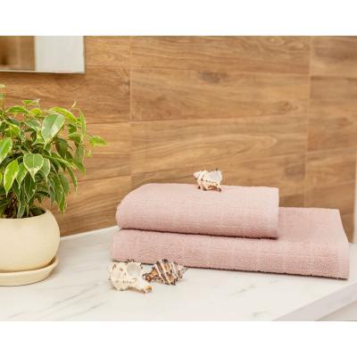 484-018 PROVANCE Линт Полотенце махровое, 100% хлопок, 50х90см, пыльно-розовый