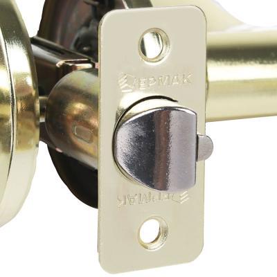 """673-052 Комплект дверных ручек """"ЗОЛОТО"""", с ключом"""