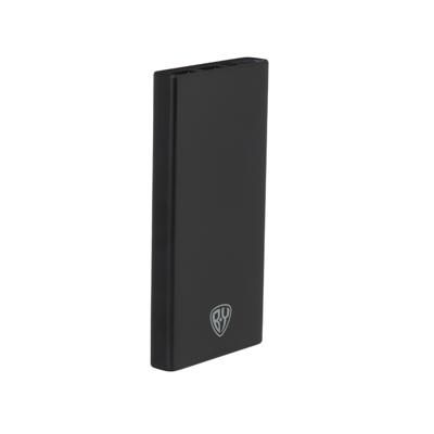 Аккумулятор мобильный, 10000 мАч, 2xUSB, 2А, пластик, 2 цвета