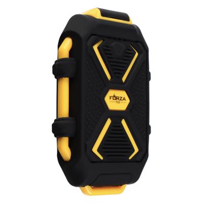 Аккумулятор мобильный, 5000мАч, IP67 (ударопр, влаго-водонепрон.корпус), фонарь, пластик