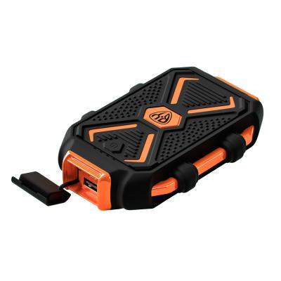 Аккумулятор мобильный, 10000 мАч, USB, 2А, защита IP67, фонарик, Чёрный-3