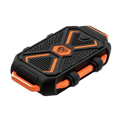 Аккумулятор мобильный, 10000 мАч, USB, 2А, защита IP67, фонарик, Чёрный-5