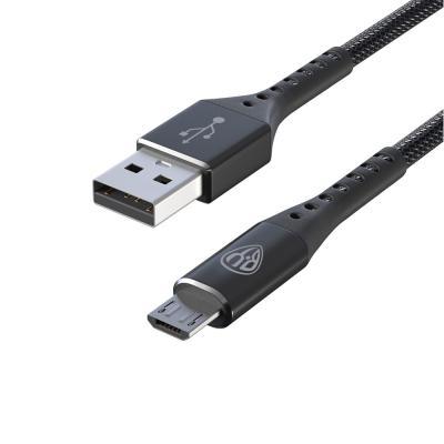 Кабель для зарядки Адреналин Micro USB, 1м, 3А, Быстрая зарядка QC 3.0, пакет-3