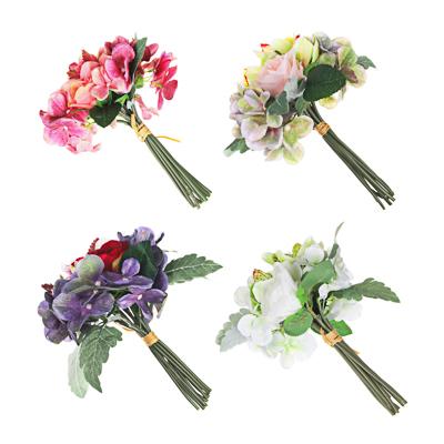 409-028 LADECOR Букет декоративный с орхидеями, 27см, полиэстер, пластик, 4 цвета