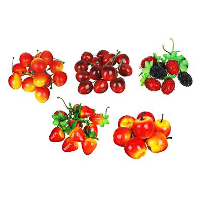 404-001 LADECOR Фрукты и ягоды искусственные, пластик, 5 видов