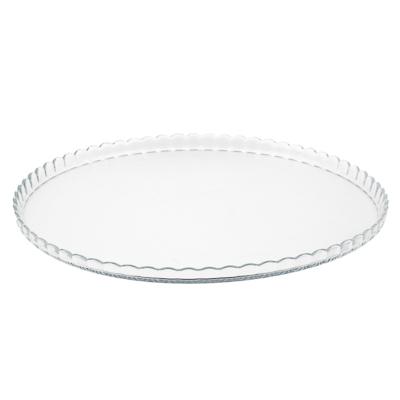 877-633 PASABAHCE Блюдо d32,2cм PATISSERIE, закаленное стекло, 10345B