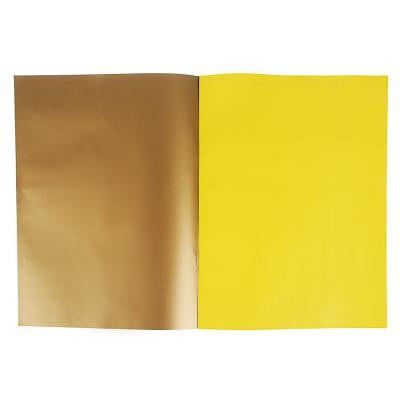 """558-030 ClipStudio Бумага цветная """"Альфа"""" мелов.офсет, 2-стор., 10л., 19х27,5см, 10цв.(вкл.золот. и серебр.)"""