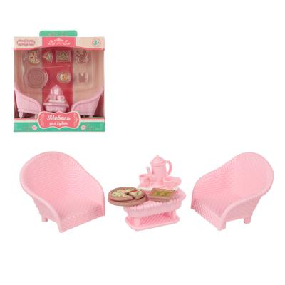 278-107 ИГРОЛЕНД Набор мебели для кукол, ABS, 13,5х14,2х7,3см, 6-8 дизайнов