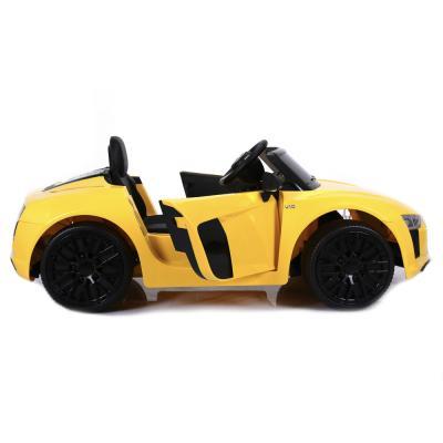 834-013 Электромобиль AUDI R8 SPYDER, свет, звук, 12V7AH, PP, 123x71x49см